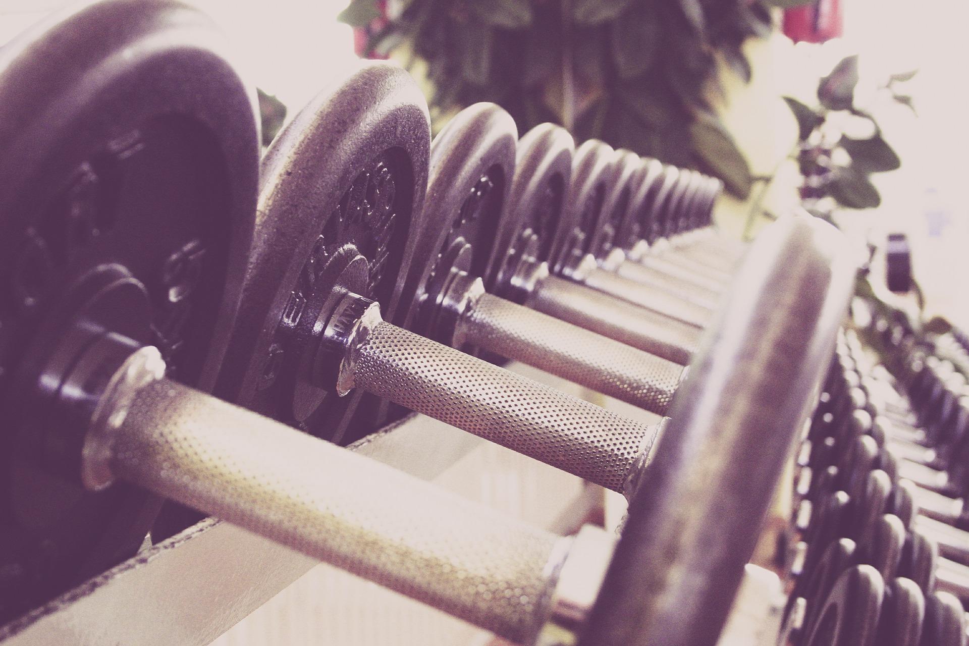 Fitnesstraining mit Musik